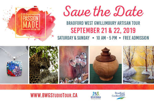 Bradford West Gwillimbury Studio Tour